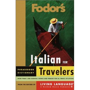 Image for Italian for Travelers: Phrasebook, Dictionary