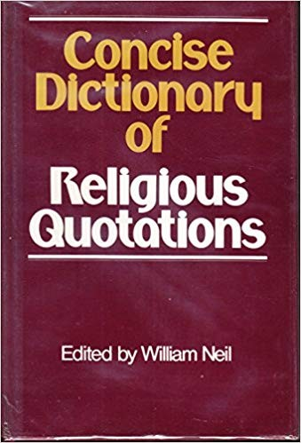 Image for Concise Dictionary of Religious Quotations