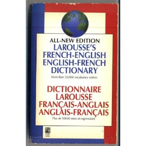 Image for All New Edition Larousse's French-English English-French Dictionary