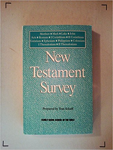Image for New Testament Survey: Matthew Thru II Thessalonians