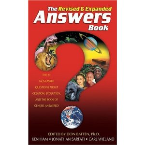 Image for The Answers Book: The 20 Most-Asked Questions About Creation, Evolution and the Book of Genesis, Answered!