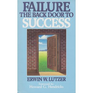 Image for Failure: The Back Door to Success