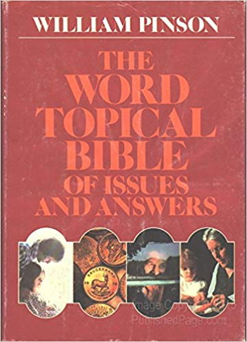 Image for The Word Topical Bible of Issues and Answers
