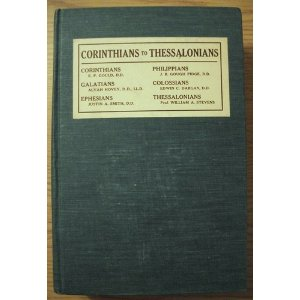 Image for Corinthians to Thessalonians (An American Commentary on the New Testament)