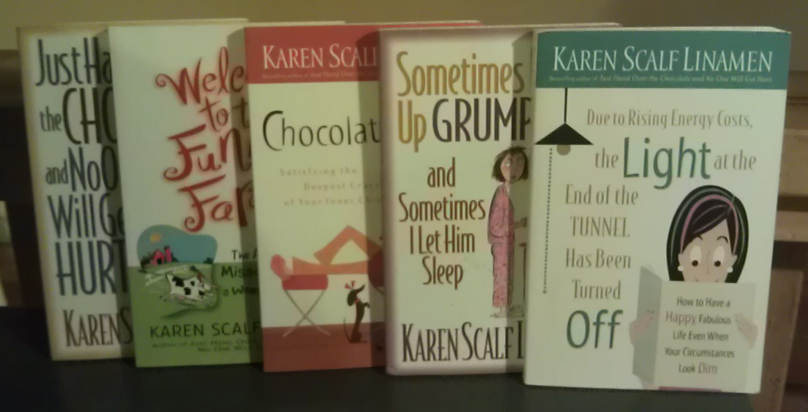 Image for Karen Scalf Linamen Set (5 Books)