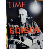 "Image for THOMAS EDISON ""HIS ELECTRIFYING LIFE"" (TIME)"