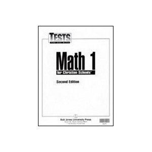 Image for Math 1 Tests