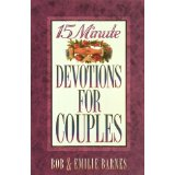 Image for 15 Minute Devotions for Couples