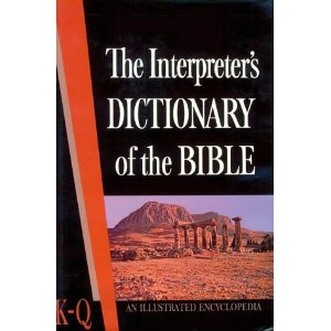 Image for The Interpreter's Dictionary of the Bible (K-Q)
