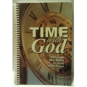 Image for Time with God: Through the Bible in Just One Year