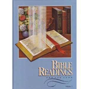 Image for Bibles Readings for the Home, Volume 1