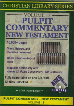 Image for Pulpit Commentary New Testament: Volume 13, CD-ROM