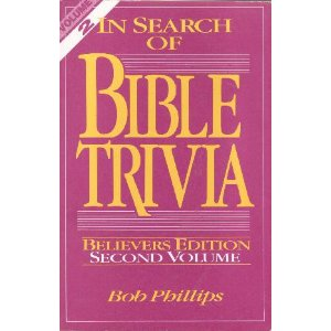 Image for In Search of Bible Trivia Vol. 2/Believers Edition