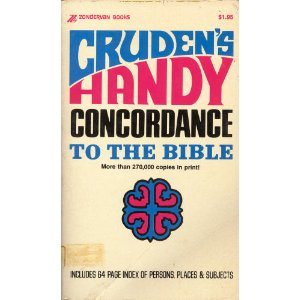 Image for Cruden's Handy Concordance to the Bible