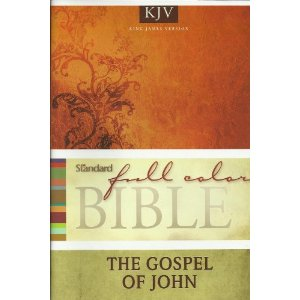 Image for Standard Full Color Bible, The Gospel of John (KJV)