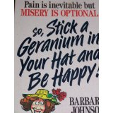 Image for So, Stick A Geranium In Your Hat And Be Happy!