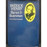 Image for Patrick Henry: Patriot and Statesman