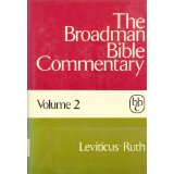Image for The Broadman Bible Commentary, Volume 2 (Leviticus - Ruth)
