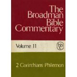 Image for The Broadman Bible Commentary, Volume 11 (2 Corinthians - Philemon)