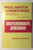 Image for Deuteronomy, Jeremiah (Proclamation commentaries)