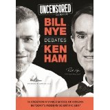 "Image for Uncensored Science: Bill Nye Debates Ken Ham DVD (2014) and the book ""Inside The Nye Ham Debate"""