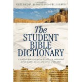 Image for The Student Bible Dictionary