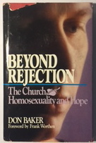 Image for Beyond Rejection: The Church, Homosexuality, and Hope