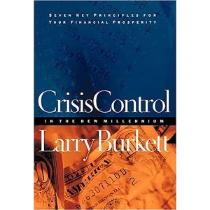 Image for Crisis Control in the New Millennium: Seven Key Principles for Your Financial Prosperity
