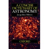 Image for A Concise Dictionary of Astronomy