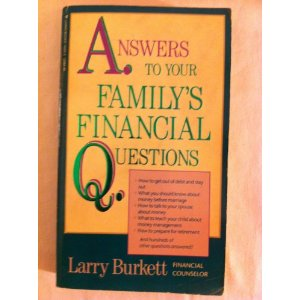 Image for Answers to Your Family's Financial Questions