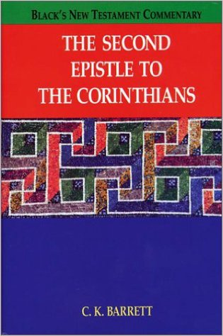 Image for The Second Epistle to the Corinthians (Black's New Testament Commentary)
