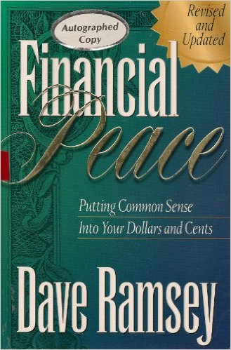 Image for Financial Peace: Putting Common Sense Into Your Dollars and Cents (LARGE PRINT EDITION)