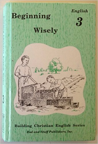 Image for Beginning Wisely, English 3 (Building Christian English Series)