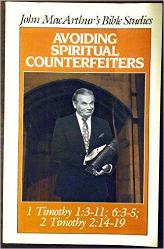 Image for Avoiding spiritual counterfeiters (John MacArthur's Bible studies)