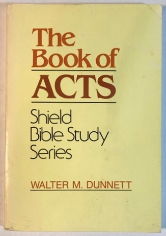 Image for The Book of Acts (Shield Bible Study Series)