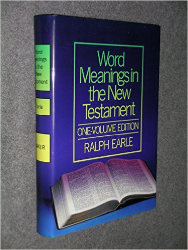 Image for Word Meanings in the New Testament: One-Volume Edition