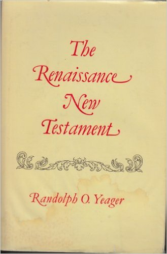 Image for The Renaissance New Testament, Vol. 1 (Matthew 1-7)
