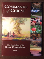 Image for Commands of Christ: the Curriculum of the Great Commission, Series 2