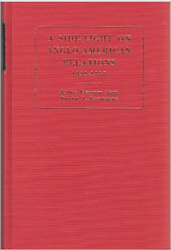 Image for Side-light on Anglo-American Relations, 1839-1858