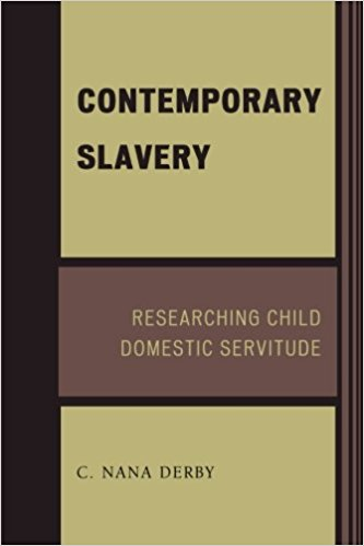 Image for Contemporary Slavery: Researching Child Domestic Servitude