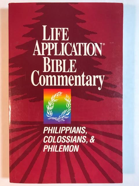 Image for Philippians, Colossians, & Philemon (Life Application Bible Commentary)