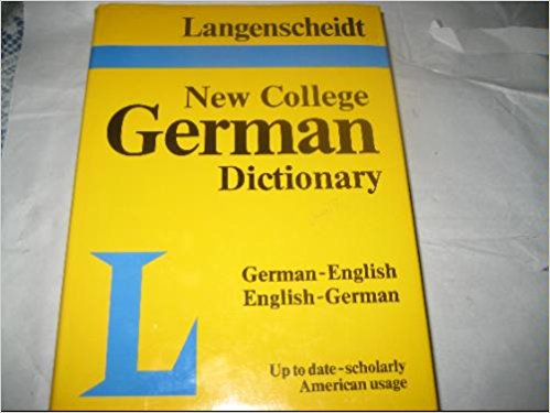 Image for Langenscheidt's New College German Dictionary German English English German
