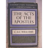 Image for The Acts Of The Apostles (Harper's New Testament Commentaries)