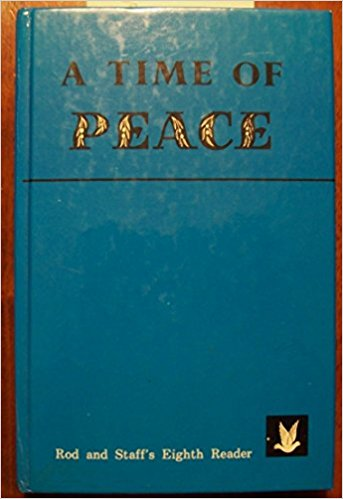 Image for A Time of Peace (Rod and Staff Eighth Reader)