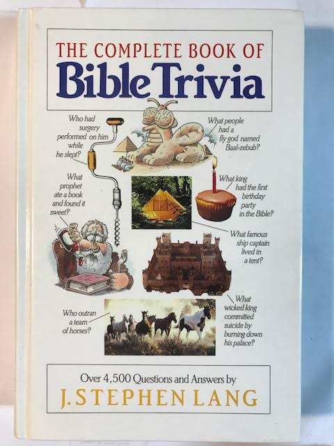 Image for The Complete Book of Bible Trivia