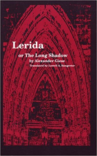 Image for Lerida or the Long Shadow. (Studies in Austrian Literature, Culture and Thought. Translation Series)