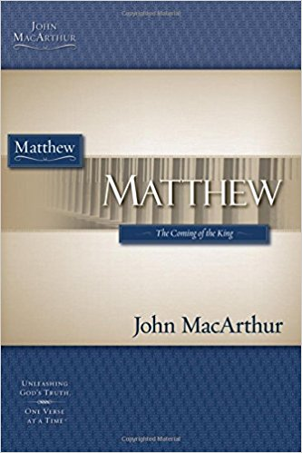 Image for Matthew (Macarthur Bible Study)