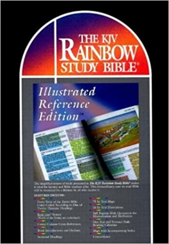 Image for The KJV Rainbow Study Bible- Illustrated Reference Edition