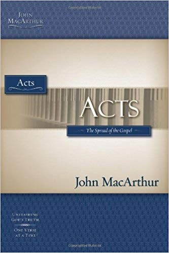 Image for Acts: The Spread of the Gospel (Macarthur Bible Studies)