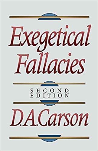 Image for Exegetical Fallacies